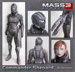 Shepard Papercraft Download