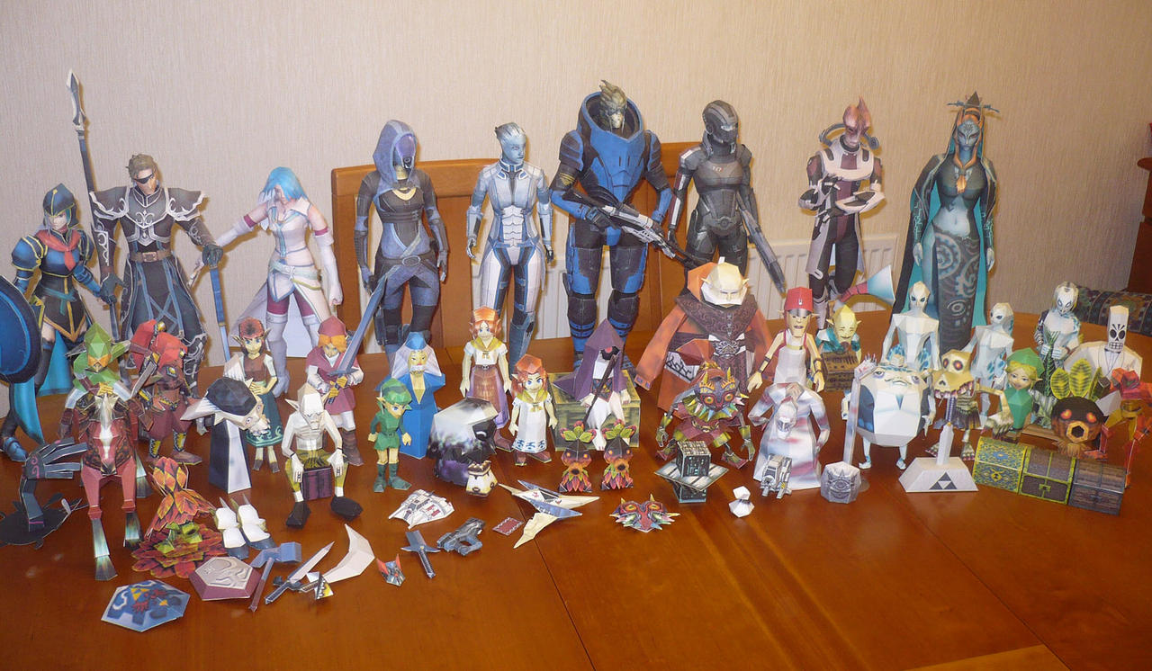 Papercrafts 2008-2012 by XenonRay