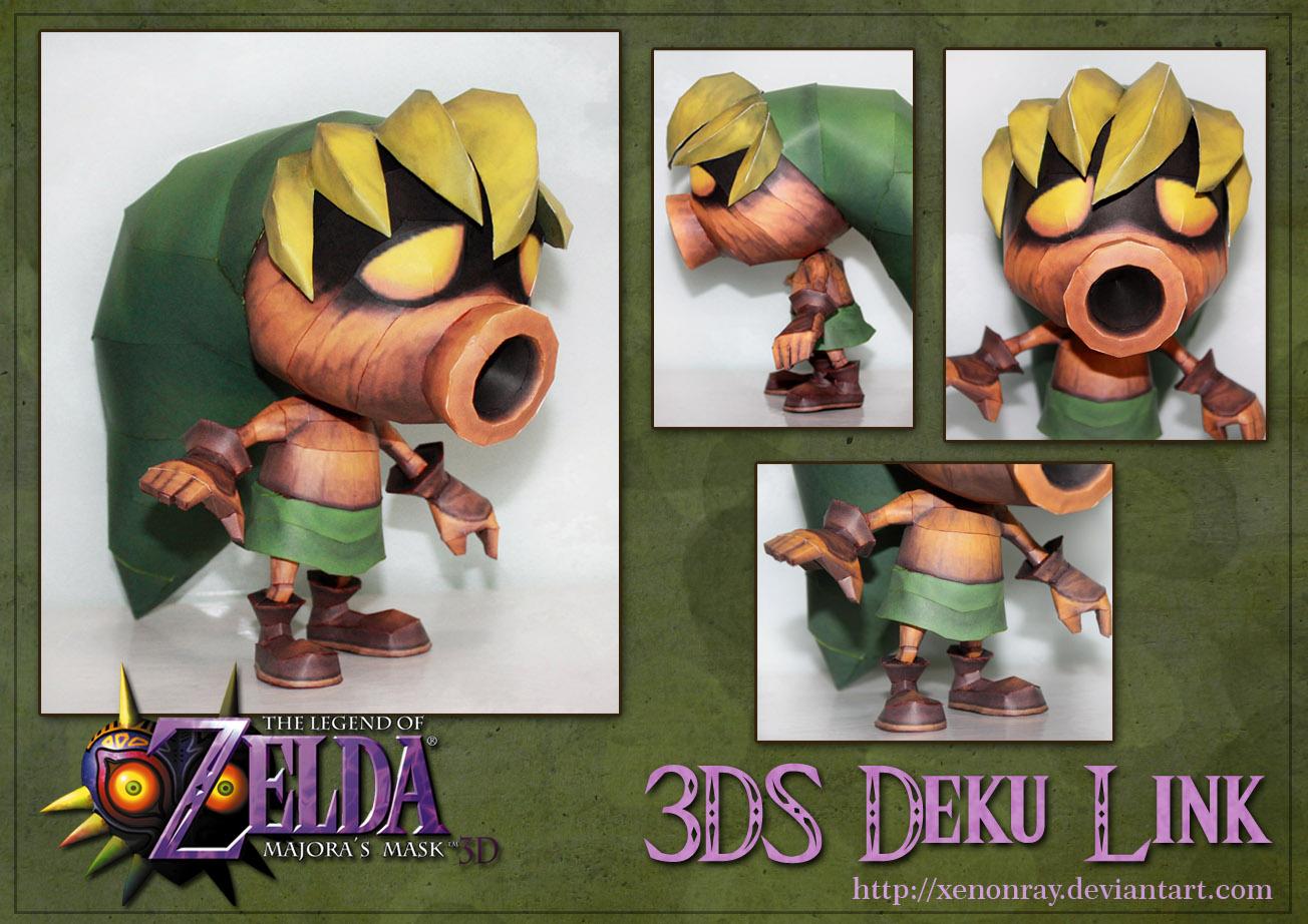 3DS Deku Link Papercraft Download
