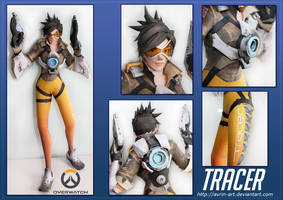 Tracer Papercraft Download by Avrin-ART