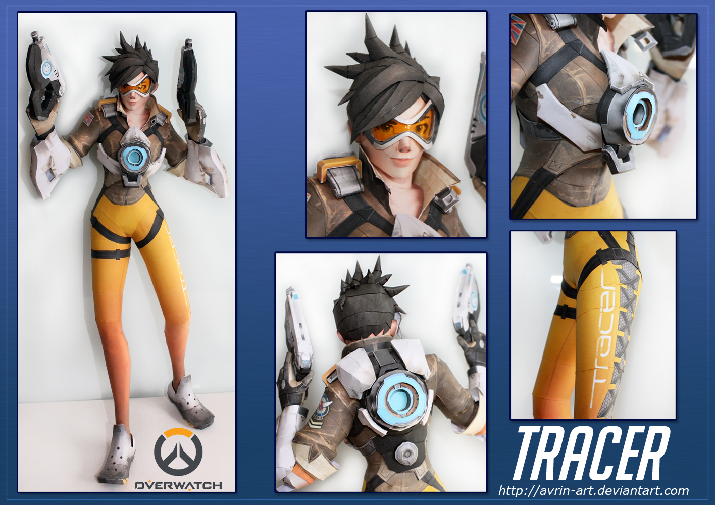 Tracer Papercraft Download