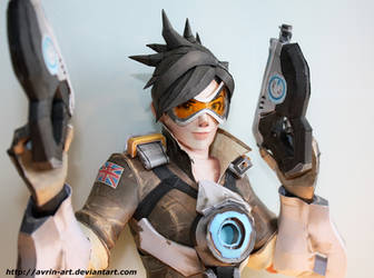 Tracer Papercraft
