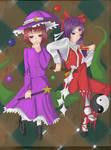 HRtP Reimu and SoEW Marisa