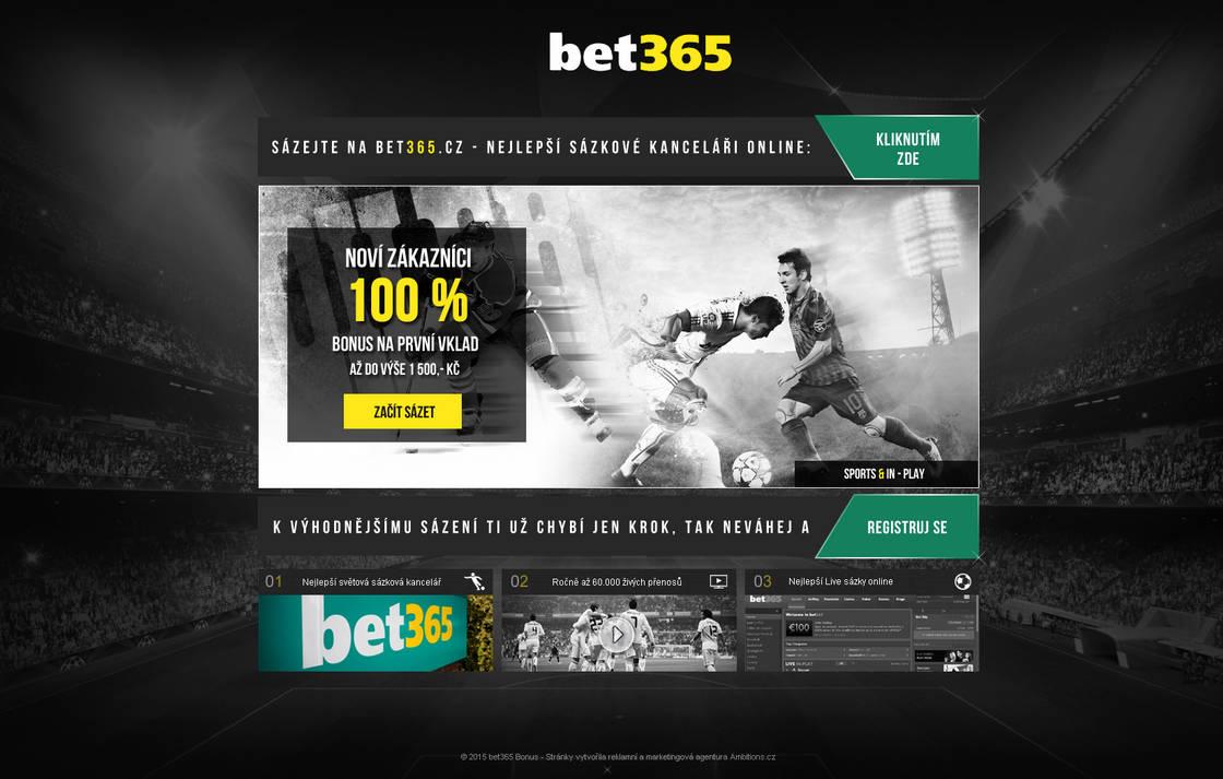 Bet365 Landingpage by Petriczek on DeviantArt