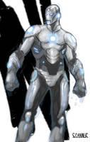 Superior Iron man by SCANNER9