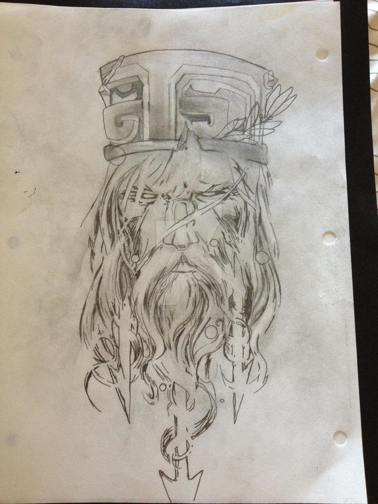 tattoo design poseidon god of the sea by theperpetualbliss on deviantart. Black Bedroom Furniture Sets. Home Design Ideas