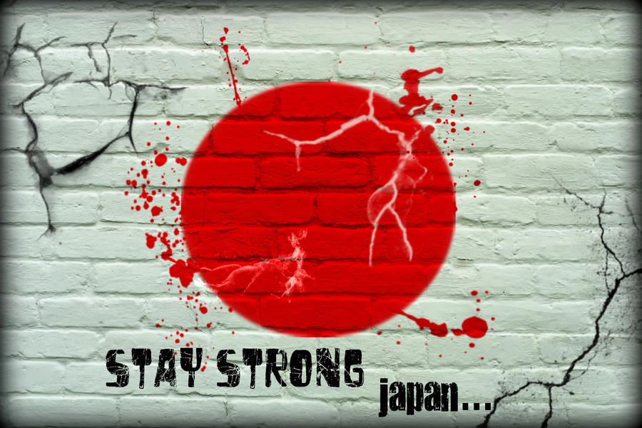 Stay Strong Japan by parthpandya89