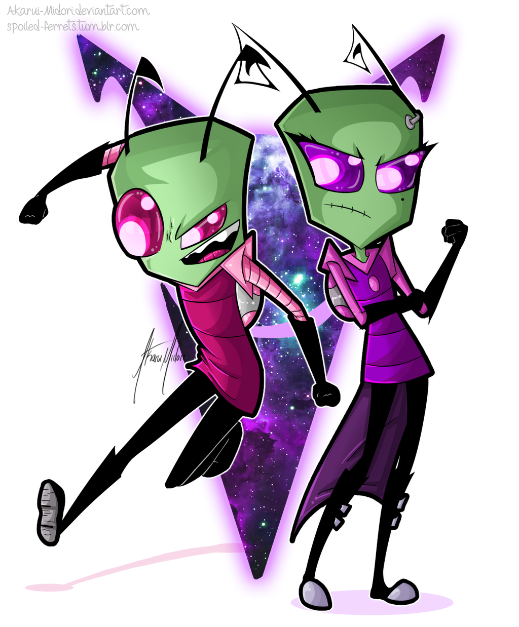 Truly The Best 'Invaders' by viscarla