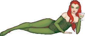 Poison Ivy, Batman and Robin