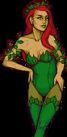 GLAM! secret santa: poison ivy by Qweia