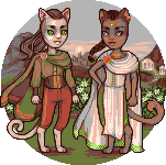 fantasy kittehs by Qweia