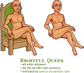 base - rightful queen by Qweia