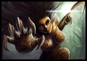 Glissa, The Traitor by Levelten