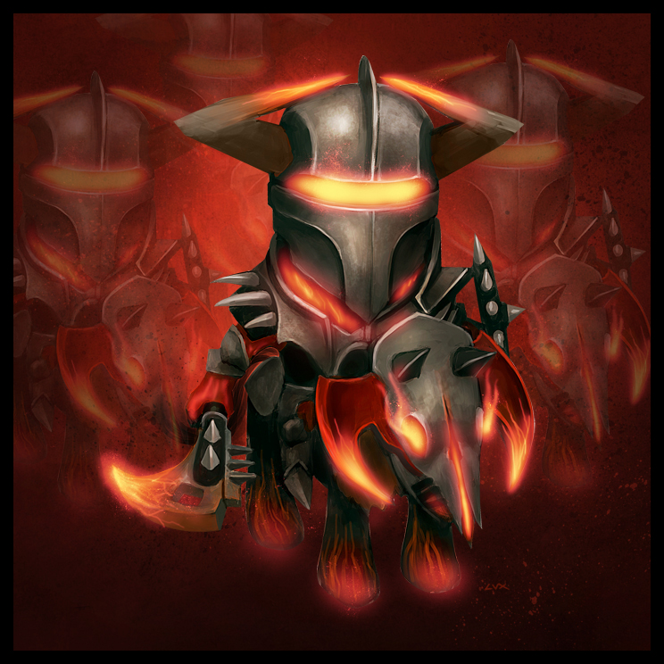 Dota 2 Chaos Knight Art