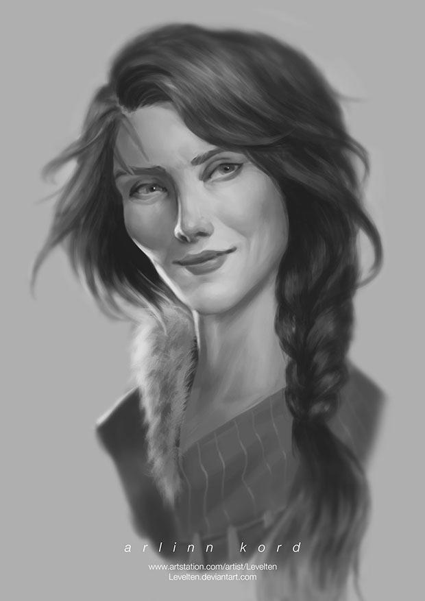 Arlinn Kord Portrait by Levelten