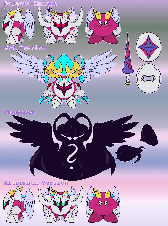 Meta Knight And Kirby Comics Ref. Sheet: Sir. Galac...