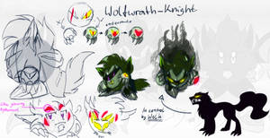 Ref. Sheet: Sir. (Wolf)wrath-Knight