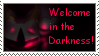 Stamp: Welcome in the Darkness by Wolfwrathknight