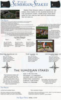 Sumerian Stakes - Finished