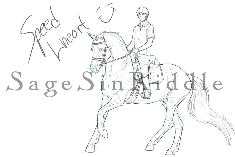 Dressage Lines - WIP by SageSinRiddle