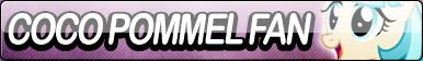 Coco Pommel Fan Button by Agent--Kiwi
