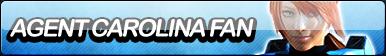 Agent Carolina Fan Button by Agent--Kiwi