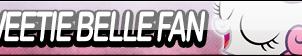 Sweetie Belle Fan Button by Agent--Kiwi