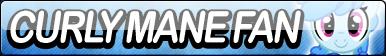 Curly Mane Fan Button by Agent--Kiwi