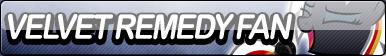 Velvet Remedy Fan Button by Agent--Kiwi
