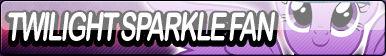 Twilight Sparkle Fan Button by Agent--Kiwi
