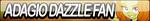 Adagio Dazzle Fan Button by Agent--Kiwi