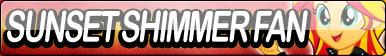 Sunset Shimmer Fan Button (Human)