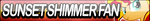 Sunset Shimmer Fan Button (Pony) by Agent--Kiwi