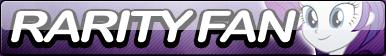 Rarity Fan Button (EQG)