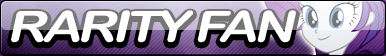 Rarity Fan Button (EQG) by Agent--Kiwi