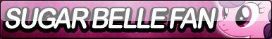 Sugar Belle Fan Button by Agent--Kiwi
