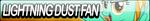 Lightning Dust Fan Button by Agent--Kiwi