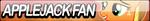 Applejack Fan Button by Agent--Kiwi