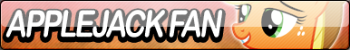 Applejack Fan Button