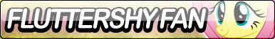 Fluttershy Fan Button by Agent--Kiwi