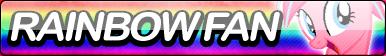 Rainbow Fan Button