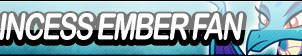 Princess Ember Fan Button by Agent--Kiwi