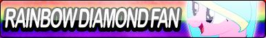 Rainbow Diamond Fan Button by Agent--Kiwi