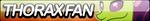 Thorax Fan Button by Agent--Kiwi