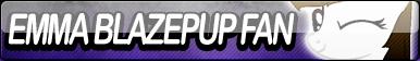 Emma Blazepup Fan Button by Agent--Kiwi