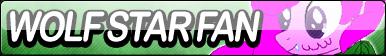 Wolf Star Fan Button