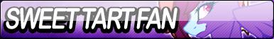Sweet Tart Fan Button