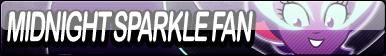 Midnight Sparkle Fan Button by Agent--Kiwi