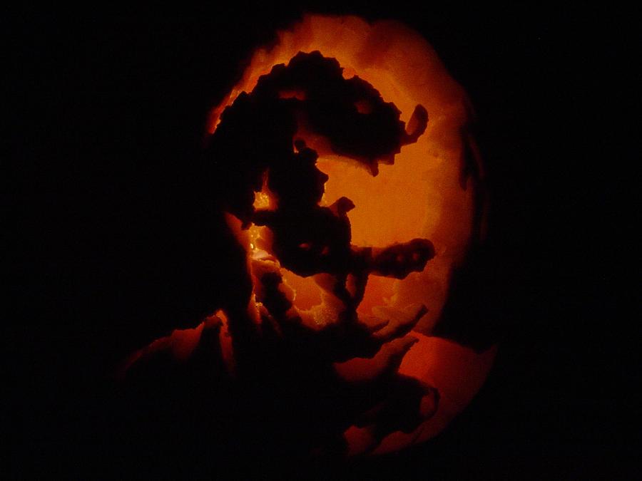 Joker Pumpkin Carvings Joker Pumpkin by Nelly2793