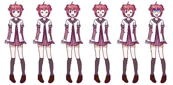 Pixel Art Practice - Akarin by nelly2793